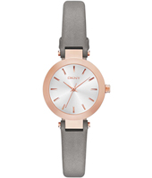 NY2408 Stanhope Mini Silver & Grey Ladies Quartz Watch