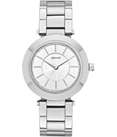 NY2285 Stanhope Silver Ladies Watch With Steel Bracelet