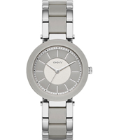 NY2462 Stanhope Grey Ceramic Ladies Quartz Watch