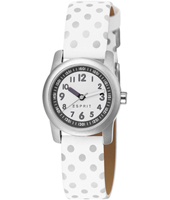 ES000FA4037 Bright  26mm White Kids Watch with Silver Dots