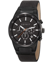 ES107961001 Equalizer Outdoor 41mm Black Chronograph with Date