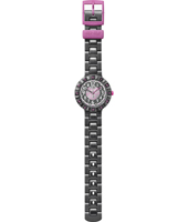 FCSP021 Funny Hours - Cuoranta Black & Pink girls watch