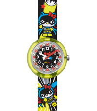 FLNP016 Hello Kitty Batgirl 30mm