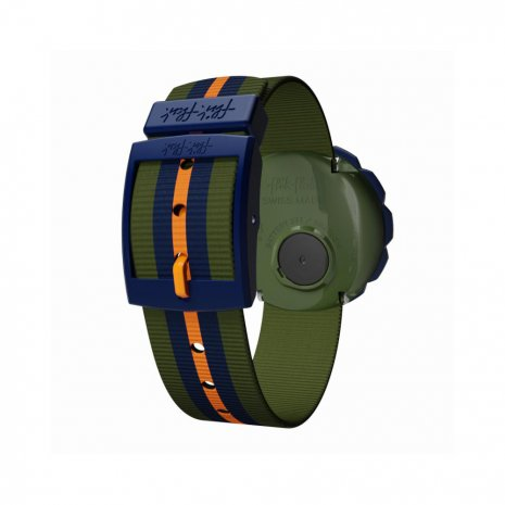 Blue & Green Swiss Made Boys Watch Collection Automne-Hiver Flik Flak