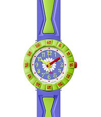FCSP035 Purple Flower 34mm
