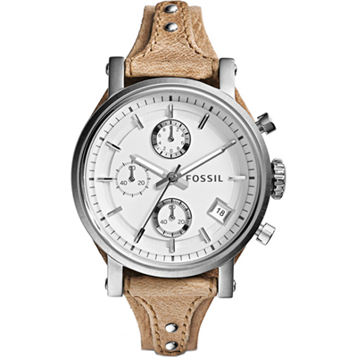Fossil Original Boyfriend Silver Ladies Chronograph