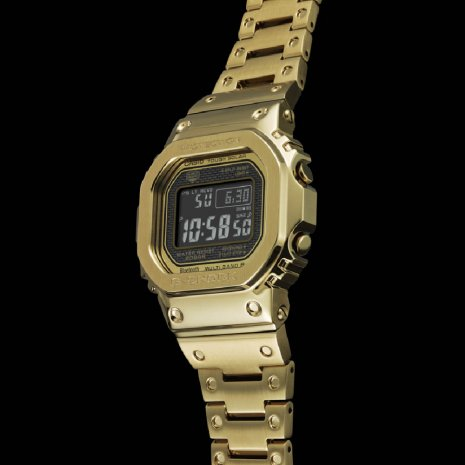 G-Shock montre Or
