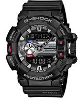 GBA-400-1AER G-Mix Bluetooth 51.90mm Black Watch with Smartphone Link