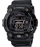 GW-7900B-1ER G-Rescue 50mm Solar Powered G-Shock watch with Tide Graph
