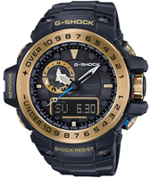 GWN-1000GB-1AER Gulf Master 55.80mm Radio controlled marine watch with tide graph and storm alarm