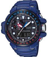 GWN-1000H-2AER Gulf Master 55.80mm Radio controlled marine watch with tide graph and storm alarm