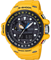 GWN-1000H-9AER Gulf Master 55.80mm Radio controlled marine watch with tide graph and storm alarm