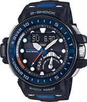 GWN-Q1000-1AER Gulf Master Quad sensor 55.80mm Radio controlled marine watch with tide graph and storm alarm