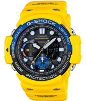 GN-1000-9AER Gulf Master Twin Sensor 53.40mm Marine Watch with Tide Graph and Storm Alarm