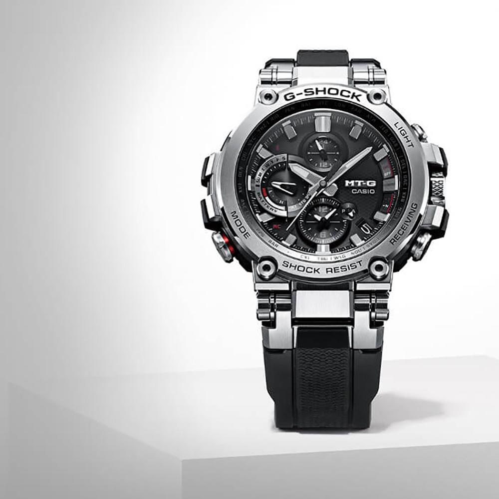 Montre G-Shock MT-G MTG-B1000-1AER Metal Twisted G • EAN ... 8f07fb184a70