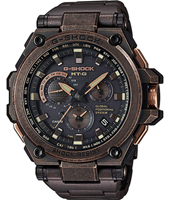 MTG-G1000AR-1AER Metal Twisted G 53.50mm Brown & black radio controlled watch with GPS