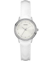 W0648L5 Chelsea 30mm White Ladies Watch with Crystals