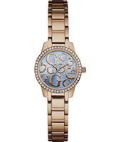 W0891L3 Greta 27mm Rose gold ladies watch with crystals