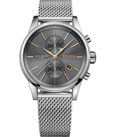 1513440 Jet 41mm Steel classic chronograph with date