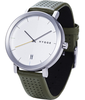 HGE-02-064 2203 Series by Major W.M. Tse 44mm Minimalist Design Watch with Date