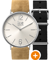 CHL.B.BEL.41.N.15 Ice-city Belfast 41mm 41mm Quartz Watch with extra Strap