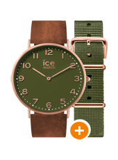 CHL.A.OAC.36.N.15 Ice-city Oakwood 36 Mm 36mm Quartz Watch with extra Strap