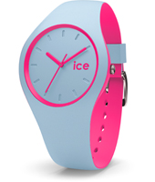DUO.BPK.U.S.16 Ice-Duo 41mm Blue & Pink Silicone Watch