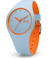 DUO.OES.U.S.16 Ice-Duo 41mm Blue & Orange Silicone Watch