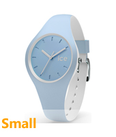 DUO.WES.S.S.16 Ice-Duo 34mm Blue & White Silicone Watch