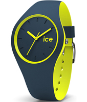 012970 Ice-Duo Winter 35mm Blue & yellow ladies fashion watch