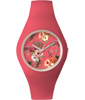 ICE.FL.DEL.U.S.15 Ice-Flower Delicious 41mm Rose gold watch with pink silicone strap