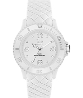 007269 Ice-Sixty Nine 43mm White silicone fashion watch