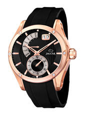 J679/1 Special Edition 44mm Rose gold gents watch with small second, big date & retrograde day scale