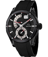 J681/2 Special Edition 44mm Black gents watch with small second, big date & retrograde day scale