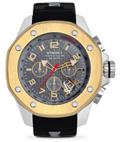 KPS.48-002 Port Silver Aurum 48mm Large two tone quartz chronograph