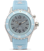 KY.40-043 Silver Sky 40mm Midsize light blue quartz diver