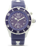 KY.40-037 Silver Twilight 40mm Midsize blue quartz diver