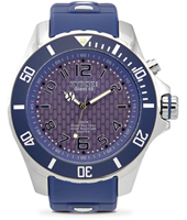 KY.48-037 Silver Twilight 48mm Large blue quartz diver