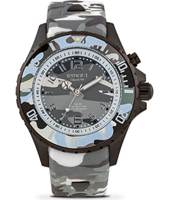 CS.40-002 Urban Camo 40mm Midsize grey camouflage quartz diver
