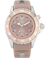 FW.40-005 Warm Taupe 40mm Midsize old pink quartz diver