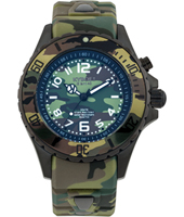 CS.40-004 Woodland Camo 40mm Midsize green camouflage quartz diver