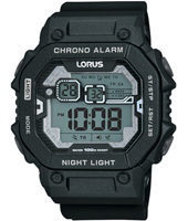 R2395KX9  47mm Black gent digital chronograph