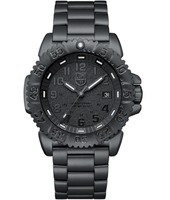 A.3152.BO Navy Seal Colormark 44mm All Black Steel Dive Watch