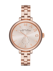 MBM3364 Keeper 36mm Rose gold ladies watch with steel bracelet