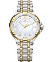 AI1006-PVY13-171-1 Aikon 35mm Swiss made two tone quartz watch