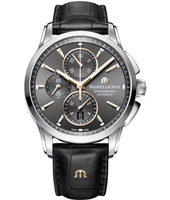 PT6388-SS001-331-1 Pontos 43mm Swiss Automatic Chronograph with Date