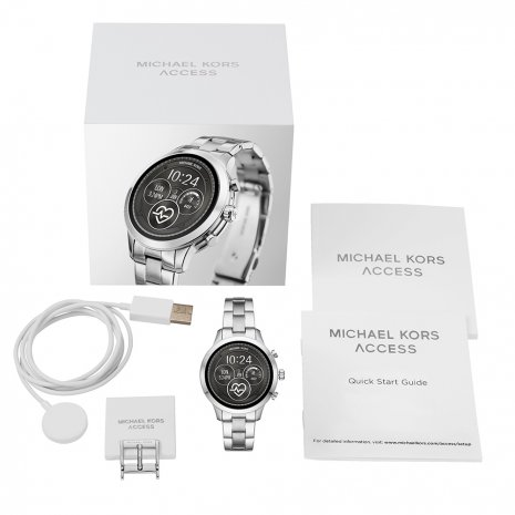 Touchscreen Smartwatch with Steel Bracelet - Gen4 Collection Automne-Hiver Michael Kors