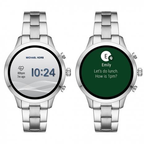 montre argent Smart Digital