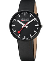 A660.30328.64SBB Evo Giant  42mm Large black swiss design watch