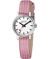 A658.30301.11SBP Evo Lady 26mm Small Swiss Railway Watch with Pink Strap